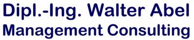 Dipl.-Ing. Walter Abel Management Consulting Logo