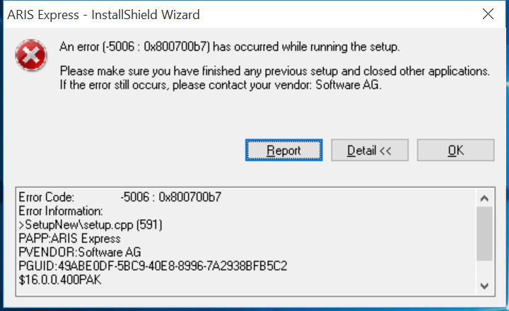 Windows 10 compatibility | ARIS BPM Community