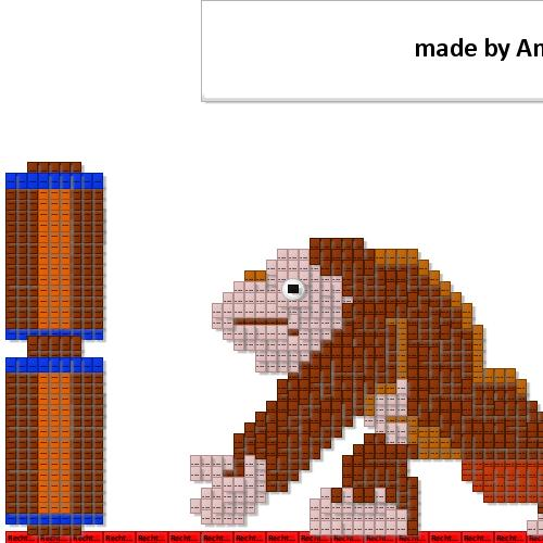 preview of Donkey Kong even likes ARIS Express (funny category) (General diagram)