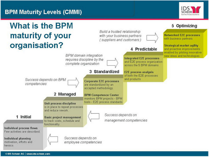 Business Process Maturity Model Bpmm