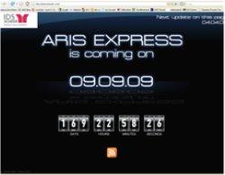 ARIS Express counter