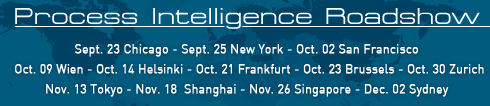 Process Intelligence Roadshow