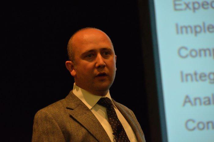 Davut Culha presenting webMethods BPMS