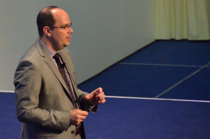 Patrick Büch of Software AG speaking about SOA portfolio management