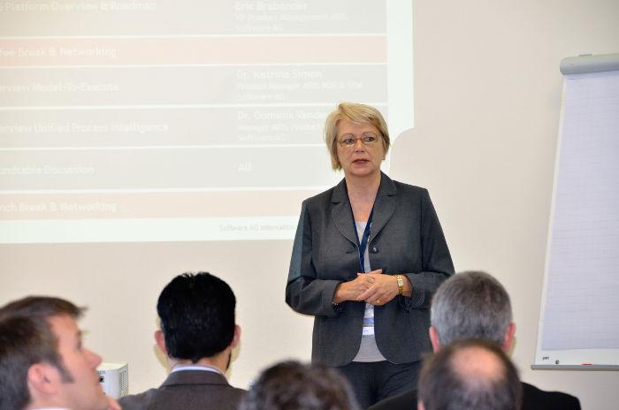 Ms. Sylvia Bühler of International ARIS User Group