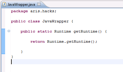 Calling Java code from a report - a quick guide with examples | ARIS