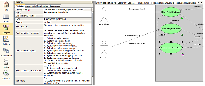 step 6b  use case flow using either bpmn process diagram or uml activity  diagram (optional), indicating normal (default path) flow, alternative flow  and