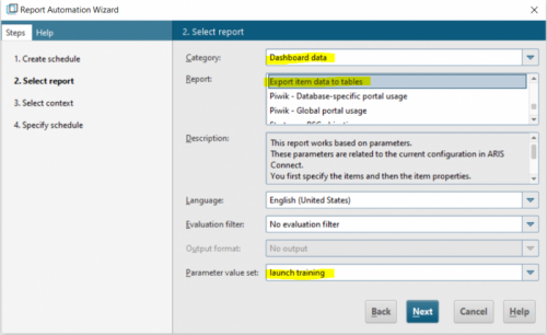 Report Automation Wizard