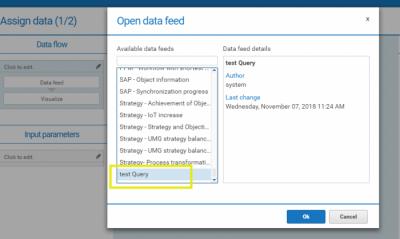 Data source for Dashboard
