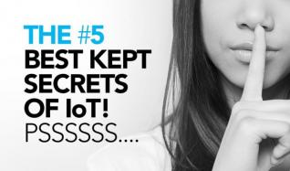 To make it easier for you to get up-to-speed on IoT, we've pulled the 5 best kept secrets of successful IoT projects together. We will reveal a new one every week. So stay tuned :-)