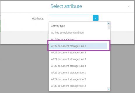 Process Live_Document storage link