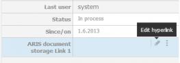 Process Live_edit hyperlink