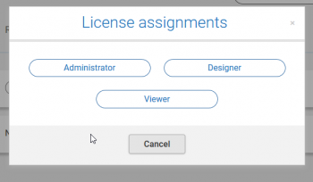 License assignments
